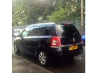 Vauxhall Zafira 58/2008 1.9 Diesel 7 Seater front end damage!