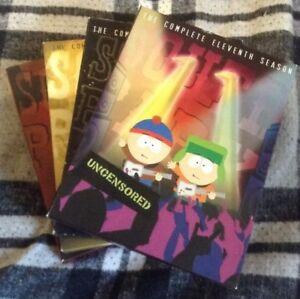 South Park DVD Box Sets Season 11,12,13,14 Southpark Video