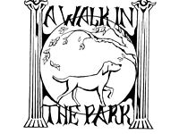 Its a walk in the park dog walking service