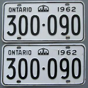 Classic Car YOM License Plates - Ministry Approval Guaranteed Kingston Kingston Area image 7