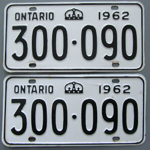 Classic Car YOM License Plates - Ministry Approval Guaranteed! Belleville Belleville Area image 7