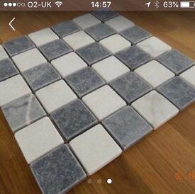 Ceramic tiles approx 30cms square