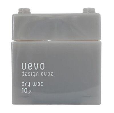 Demi Uevo Design Cube Dry Wax Matte Dry Hair Wax 80g 2.82oz Pro Beauty Salon NEW