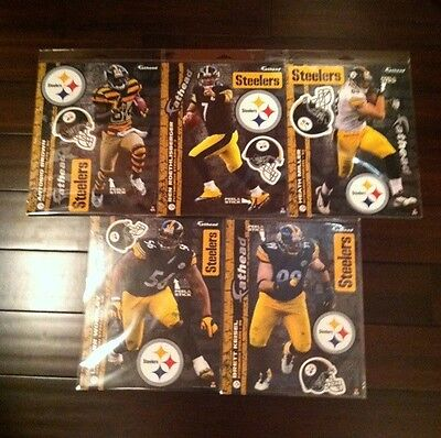 (PITTSBURGH STEELERS FATHEADS Official NFL Vinyl Wall Graphics/Decal 11