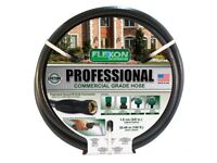 2 X Brand New, Flexon Professional Commercial Grade HosePipe 30M/100F EACH ONLY £40.00 DELIVERED