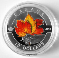RCM-Pièce monnaie Maple Leaf Strong&Free Proof Color silver Coin