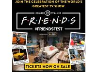 Friends fest tickets for sale Saturday 29th July