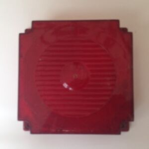 Old trailer  taillight lens oddball  one only