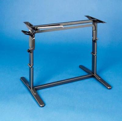 Hubtisch TraveLine (braun), Abstand Bohrung für Platte 680mm