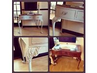 Rare 100 year old vintage writing desk/dressing table