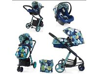 Cosatto Woop 2 in 1 pushchair and Car Seat.
