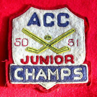 1950 Assiniboia Community Centre Hockey Champs Patch
