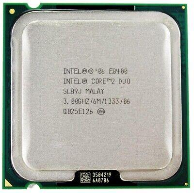 Intel core 2 duo E8400 3.00GHz Socket 775 segunda mano  Embacar hacia Spain