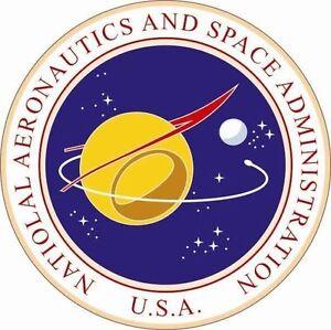 Aufkleber NASA Siegel Flagge Seal Fahne USA Autoaufkleber Sticker 20 cm
