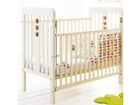 Cosatto cot bed and changing table