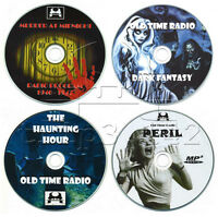 Old Time Radio Horror Collection Otr Mp3 Cd's Spaventosa Ghost Stories -  - ebay.it