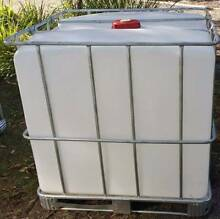 WATER TANK IBC TANK 1000 LITERS FOOD GRADE AQUAPONICS FISH Capalaba Brisbane South East Preview