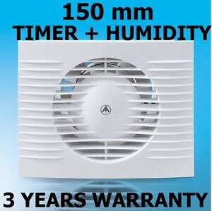 150mm-Bathroom-Kitchen-Toilet-Wet-Room-Extractor-Fan-TIMER-HUMIDITY