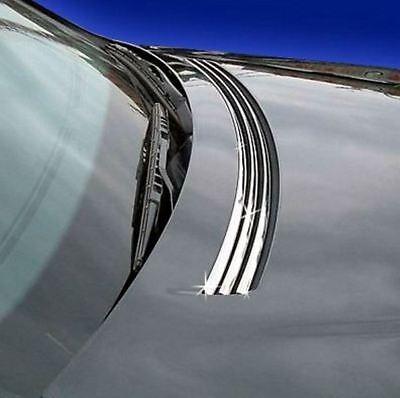 Chrom Leisten Lufteinlass Mercedes W140 S-Klasse EDELSTAHL