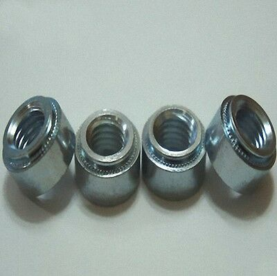 20Pcs S-M3-1 Zinc Plated Carbon Steel Self Clinching Nuts [M_M_S]
