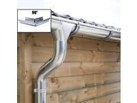 Zinc guttering kit for hipped roof   Available in galvanised and titanium zinc!