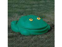 Frog sandpit *FREE*