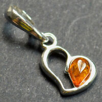 AUTHENTIC BALTIC AMBER STONE 925 STERLING SILVER Pendant