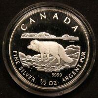2004 Arctic Fox .9999 Pure Silver 4-Coin Set