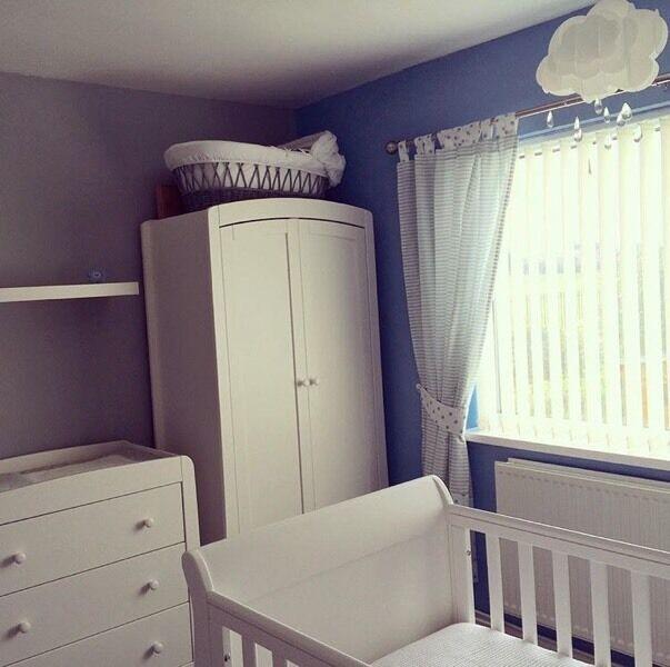 Merveilleux Mamas U0026 Papas 3 Piece Nursery Furniture Set   Mia
