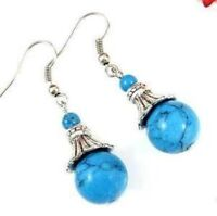 Fancy Jewellery Tibet Turquoise Earring--NEW!!