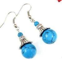 Fancy Jewellery Tibet Turquoise Earring--NEW!!