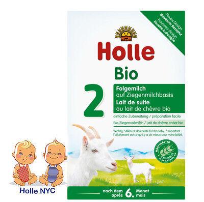 Holle Organic Goat Milk Formula Stage 2 400g FREE SHIPPING 07/2020