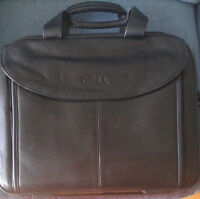 Dell leather laptop bag, new