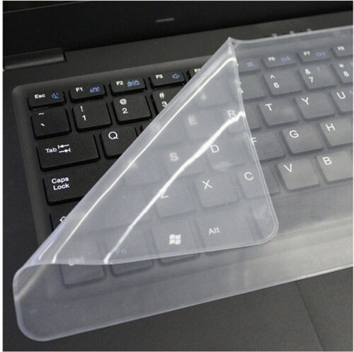 "2pcs Practical Silicone 15/"" 17/"" Laptop Keyboard Cover Skin Protector Protective"
