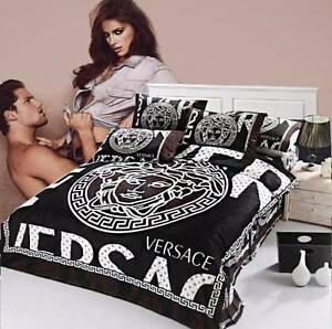Versace Cotton Bedding Set Quilt Queen Size Bed Bonbeach Kingston Area Preview