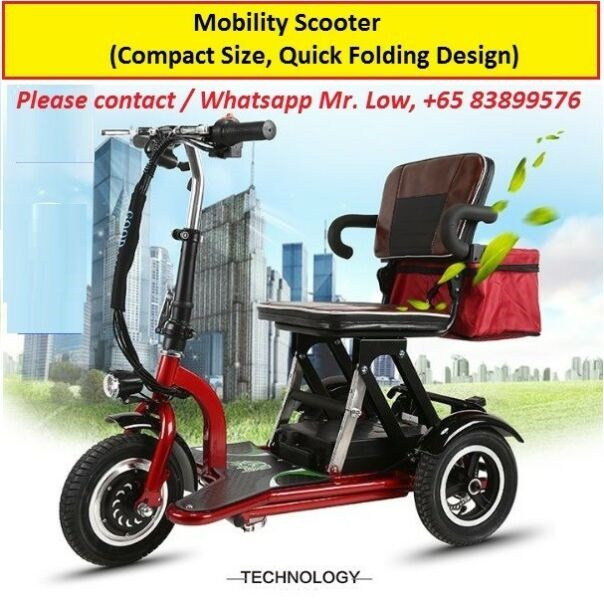 3 Wheels Mobility Scooter For Sale