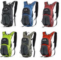 New 15L Cycling Bladder Backpack Camping  Travel DayPack  .
