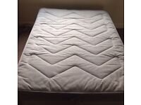 Great double bed with mattress & storage