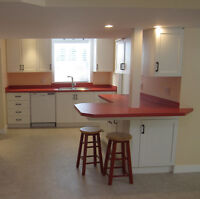 NEW-BUILT BASEMENT APARTMENT-BE THE FIRST TO LIVE IN IT!
