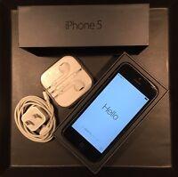 iPhone 5 , Black , 16GB