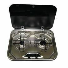 Gas Stove. SMEV quality LPG 2 burner caravan stove top. Brand New Wangara Wanneroo Area Preview