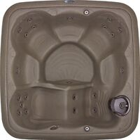 You don't have to buy used to get a good deal on a hot tub!