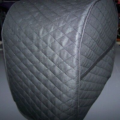 $22.99 - Black (or choice) Quilted Fabric Starbucks Verismo 580 Coffee Brewer Cover NEW