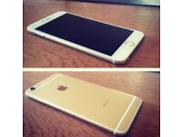 IPHONE 6 PLUS GOLD UNLOCKED in perfect condition