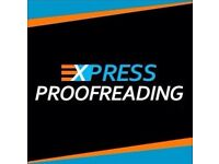 Express Proofreading For Your Essay / PhD Thesis / Dissertation / Coursework & Dissertation Help