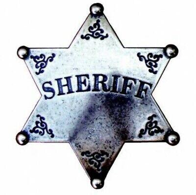 Denix Sheriffstern Lincoln county Sheriff Stern messingf Cowboy Western
