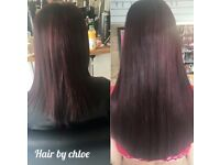 Hair extensions at GG's hair and beauty salon, Mutley plain, Plymouth FREE CONSULTATIONS