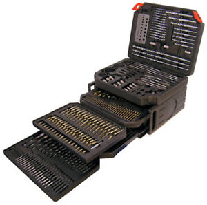 300 PIECE DRILL BIT AND ACCESSORY SET