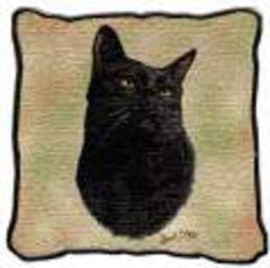 Black Cat pillow, Bombay cat pillow, black & white cat pillow Oakville / Halton Region Toronto (GTA) image 2