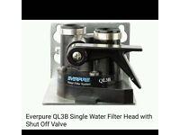 Everpure Ev9601-00 4C Cartridge With Everpure Filter Head Ev305586E QL3B